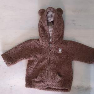 Carter's Hooded Fleece Jacket with Adorable Ears